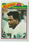 1977 Topps Mexican #194 Randy Crowder Miami Dolphons Penn State