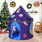 Kids Castle Space Playhouse Foldable Child In/Outdoor Play Tent Game House +Bag