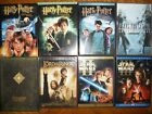LOT OF 8 DVD MOVIES STAR WAR 2,3, HARRY POTTER 123, LORD OF THE RING, FINAL FANT