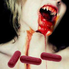 Cool Realistic Fake Blood Capsule Trick Toy for Jokes Holiday