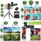 Cell Phone Camera Lens Kit Remote Shutter Phone 6 In 1 Phone Lens Metal 16X