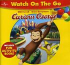 CURIOUS GEORGE - Watch On The Go DVD w/ Fun Activity Book - New