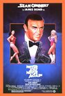 Never Say Never Again James Bond 007 Movie Poster SM MD LG FREE SHIPPING $7.99 USD on eBay