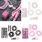 Cable USB earphone protector cable winder bling stickers for phone 6 7 83C
