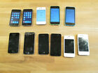 Lot Of 11 Apple iPhone C iPhone 5 iPhone 4 iPod Touch * No Resserve *