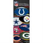 6 Pack of Officially Licensed NFL Football Shape Stickers - Pick Your Team!! on eBay