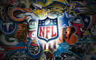 6 Pack of Officially Licensed NFL Logo Stickers - Pick Your Favorite Team! $5.5 USD on eBay