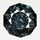 17.00 Ct UNHEATED BLACK WITH IRIDESCENT BLUE FLASH NUUMITE FROM GREENLAND