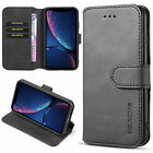 For iPhoneX XS Max XR 8 7 Pus Case Luxury Retro Leather Flip Wallet Stand Cover