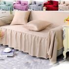 Elastic Sofa Cover 1/2/3/4 Seaters Stretch Couch Slipcover Protector Anti-Skid