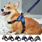 Dog Harnesses Strap No Pull Adjustable Reflective Nylon with Handle Large Dogs