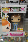 Funko Pop! Freddy Funko Dumb and Dumber Blue SDCC Exclusive with Soft Protector