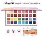 Amor us BUBBLE POP EYESHADOW & GLITTER PALETTE- Smooth, Highly Pigmented Colors
