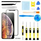 For i Phone XS Max Front Touch Screen Glass Lens Replacement 16 Repair Tools Kit