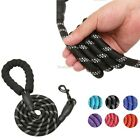 Large Heavy Duty Nylon Dog Leash Lead Rope with Handle for Dog Training Walking