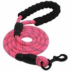 Dog Leash Rope Long with Padded Handle Reflective Threads for Large Dogs Walking <br/> ✅USPS ✅Free Shipping✅100% Positive Feedback