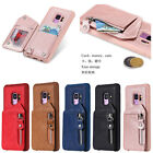 Holder Leather Wallet Card Slot Back Case Cover For Iphone6 7 8 Xs Xr Samsung S8