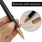 E199 Smooth Writing Pens Calligraphy School Supplies Signature Solid Wood