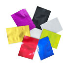 Colorful Open Top Pure Aluminum Foil Bags Vacuum Seal Mylar Food Storage Pouches