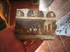 VINTAGE THE LORD'S SUPPER WALL PLAQUE ART ON PLASTER