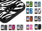 Hard Case +Silicone Hybrid Protector TUFF Cover for LG Optimus Regard/Motion 4G