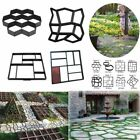 DIY Plastic Paving Path Mold Cement Brick Stone 8 style Road Maker Pavement Tool image