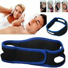 Anti Snore Stop Snoring Sleep Apnea Belt Chin Strap Jaw Support Health Solution