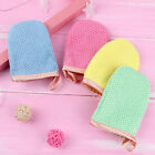 2Pcs reusable facial cloth face towel makeup remover cleansing glove tool ZJP