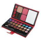 Full 33 Colors Eyeshadow Palette Blush Lip Gloss Concealer Beauty Makeup Set