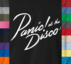PANIC AT THE DISCO T-Shirt Rock Band Logo Concert Tour S-6XL Ringspun Cotton Tee image