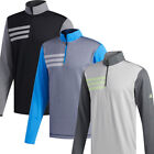 Adidas Golf 2019 Mens 3-Stripes Competition 1/4 Zip Sweatshirt Pullover Top