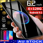 Au X23 6gb + 128gb Android Dual Sim 6.2'' Dual Hd Full Screen Smart Mobile Phone