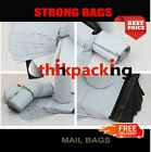 100 x  Premium Strong WHITE Virgin Plastic Mailing Postal Poly Bags 9x12 Size
