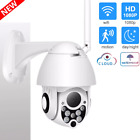 Outdoor Wifi Camera WiFi PTZ Dome Camera 1080P-HD Night-Vision Pan Tilt - New