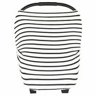 1X(Baby Car Seat Cover Canopy and Nursing Cover Multi-Use Stretchy 5 in 1 Gif 2L