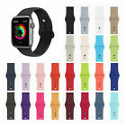 Silicone Sports Band Strap for Apple Watch iWatch Series 4 3 2 1 38/40mm 42/44mm image