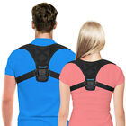 Posture Corrector Lumbar Lower Magnetic Back Support Shoulder Brace Belt Therapy