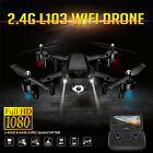 Global Drone L103 2.4G 1080P HD Camera WiFi Quadcopter Aircraft 2200mAh Battery