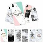 For iPhone X XS Max XR 8 7 Shockproof Soft Silicone Painted TPU Back Case Cover
