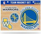 Golden State Warriors Multi Die Cut Magnet Sheet Auto Home NBA Basketball on eBay