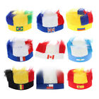 Wig Hair Soccer Fans Headband National Flag Games Cheering Hat