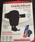 Tzumi Gravity Mount for Auto Vents, Wireless Charger, Black  IPhone X,8+,8 ready