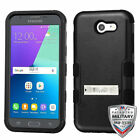 For Samsung Galaxy Express Prime 2/J3 TUFF Hybrid Impact Phone Protector Cover