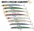 Savage Gear Salt Water Lures Bass Fishing JERK MINNOW  Sea Fishing Tackle Bait