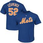 Yoenis Cespedes New York Mets #52 MLB Men's Player Name & Number T-shirt on Ebay