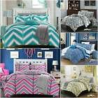 Chic Home Laredo 10 Piece Comforter Set Reversible Chevron Bed in a Bag image