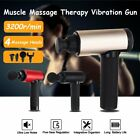 3 Speeds Percussion Massage Gun 2600mAh Vibration Muscle Body Therapy Massager