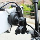 C880 GPS Durable Motorcycle Phone X-Type Holder 12V-30V 3.5-6 Inch Stand