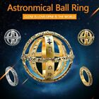 Fashion Chic Astronomical Sphere Ball Ring Cosmic Astronomy Ball Women Men Gift