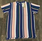 Vintage Striped Style Tee By Evolution Men's Karl HighEnd Fashion Kani
